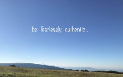 Authenticiteit.